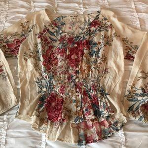 Billabong blouse small
